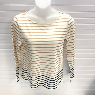 Primary Photo - BRAND: TALBOTS STYLE: TOP LONG SLEEVE COLOR: CREAM SIZE: L SKU: 239-23911-73873