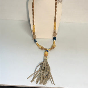 Primary Photo - BRAND: CHICOSSTYLE: NECKLACECOLOR: BLUE YELLOWSKU: 239-23911-62702