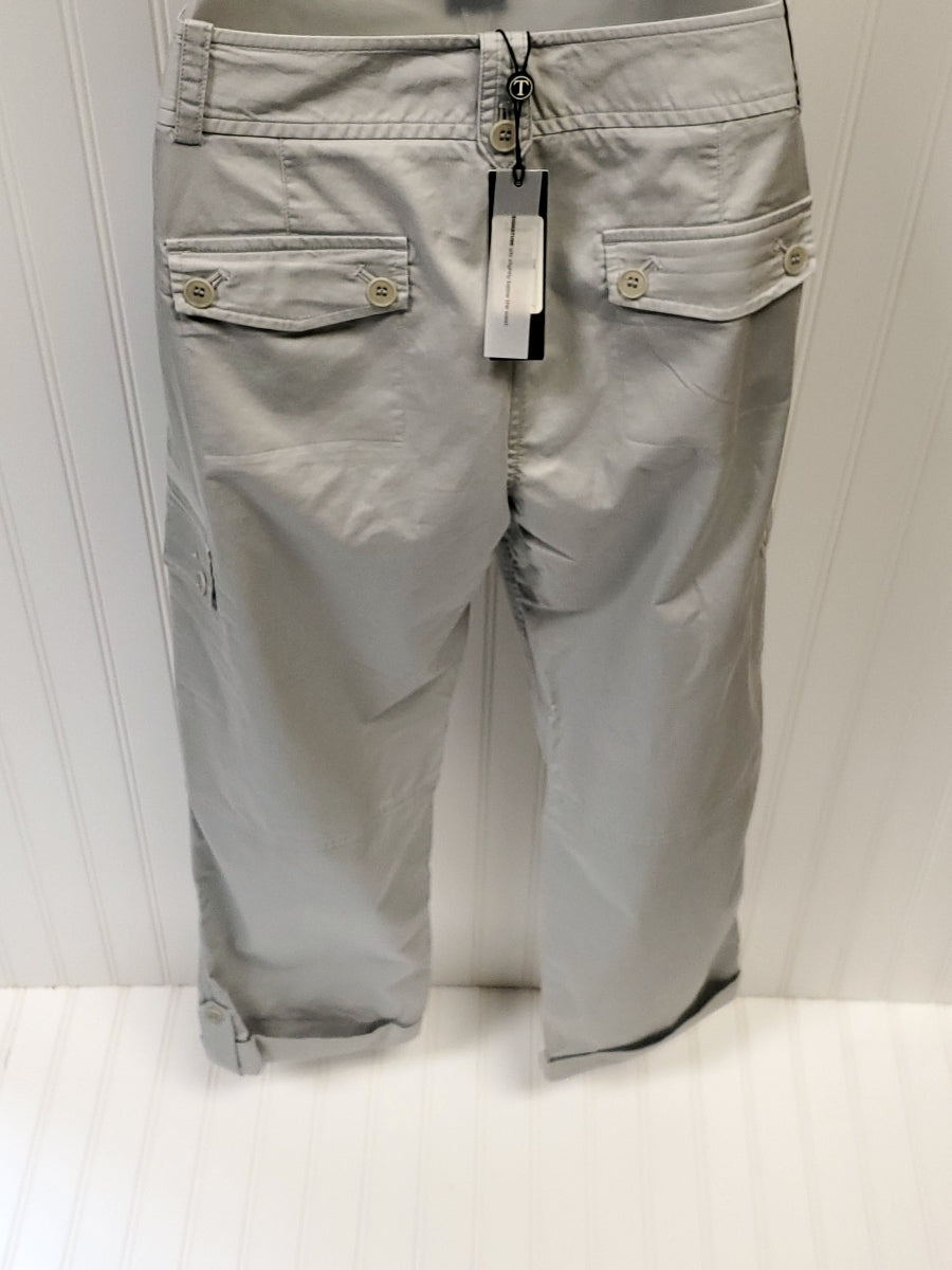 Photo #1 - BRAND: TALBOTS <BR>STYLE: PANTS <BR>COLOR: GREY <BR>SIZE: 6 <BR>OTHER INFO: NEW! ORIGINALLY 79.50 <BR>SKU: 239-23911-67423