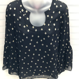 Primary Photo - BRAND: LILLY PULITZER STYLE: TOP LONG SLEEVE COLOR: BLACK SIZE: XS OTHER INFO: BLACK AND GOLD SKU: 239-23918-38551