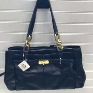 Primary Photo - BRAND: COACH STYLE: HANDBAG DESIGNER COLOR: BLACK SIZE: MEDIUM SKU: 239-23918-39162CHE LEATHER JAY EW CRYL