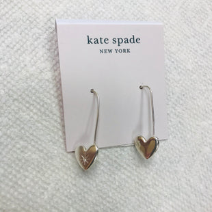 Primary Photo - BRAND: KATE SPADE STYLE: EARRINGS COLOR: SILVER SKU: 239-23911-67656
