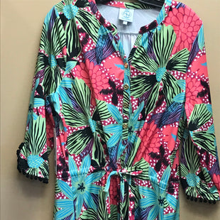 Primary Photo - BRAND: TRACY NEGOSHIAN STYLE: DRESS SHORT LONG SLEEVE COLOR: MULTI SIZE: L OTHER INFO: NEW! SKU: 239-23911-69184