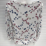 Photo #1 - BRAND: ANN TAYLOR <BR>STYLE: TOP LONG SLEEVE <BR>COLOR: FLOWERED <BR>SIZE: XS <BR>SKU: 239-23911-73777