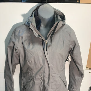 Primary Photo - BRAND: PATAGONIASTYLE: COAT LONGCOLOR: GREYSIZE: MOTHER INFO: PATAGONIA 3IN 1 PARKASKU: 239-23918-32915SNAP AND ZIPPER CLOSURES. REMOVABLE LINING AND HOOD