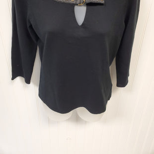 Primary Photo - BRAND:  SHU SHUSTYLE: SWEATER LIGHTWEIGHT COLOR: BLACK SIZE: S SKU: 239-23918-33708