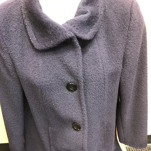 Primary Photo - BRAND: ELLEN TRACY STYLE: COAT WOOL COLOR: NAVY SIZE: 12 SKU: 239-23918-36125