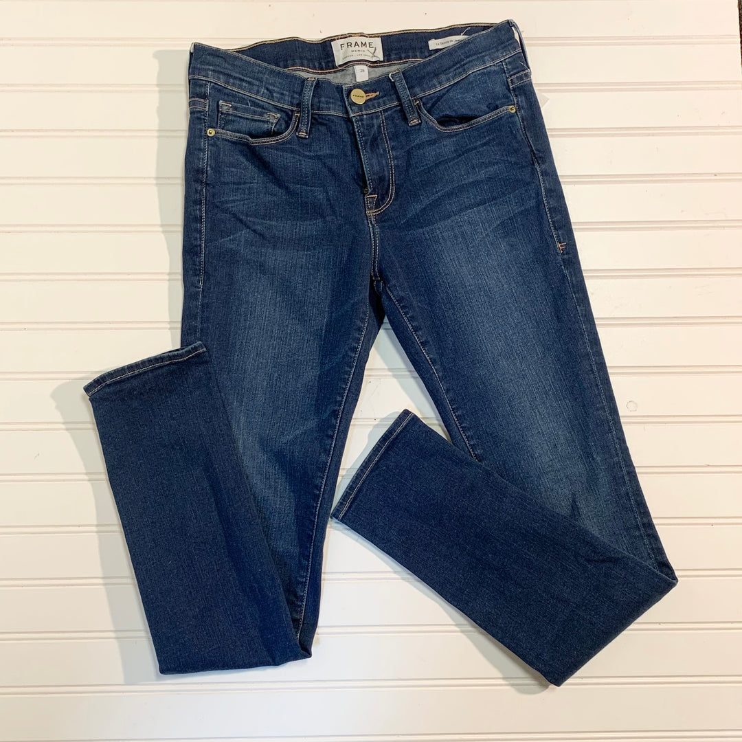 Primary Photo - BRAND: FRAME <BR>STYLE: JEANS <BR>COLOR: DENIM <BR>SIZE: 6 <BR>SKU: 239-23918-34586