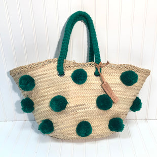 Primary Photo - BRAND:   FRENCH BASKETSSTYLE: TOTE COLOR: GREEN SIZE: LARGESKU: 239-23930-3248