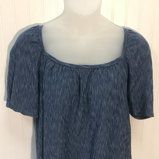 Primary Photo - BRAND: POSTMARK STYLE: TOP SHORT SLEEVE COLOR: BLUE SIZE: L SKU: 239-23918-18224
