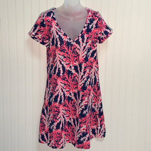 Primary Photo - BRAND: LILLY PULITZER STYLE: DRESS SHORT SHORT SLEEVE COLOR: NAUTICAL SIZE: S OTHER INFO: JESSICA SHORT SLEEVE DRESS NAVY BEYOND THE SEA SKU: 239-23911-71141
