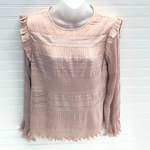Primary Photo - BRAND: VELVET STYLE: TOP LONG SLEEVE COLOR: NUDE SIZE: M SKU: 239-23918-38629