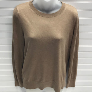 Primary Photo - BRAND: BANANA REPUBLIC STYLE: SWEATER LIGHTWEIGHT COLOR: TAN SIZE: M OTHER INFO: SILK & CASHMERE SKU: 239-23918-38415