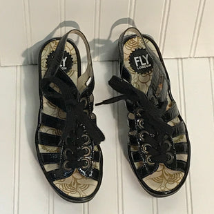 Primary Photo - BRAND: FLY LONDON STYLE: SANDALS LOW COLOR: BLACK SIZE: 7.5 OTHER INFO: EUROPEAN 38 SKU: 239-23911-72347NEW!