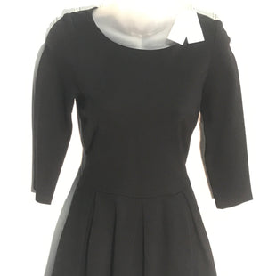 Primary Photo - BRAND: BANANA REPUBLIC STYLE: DRESS SHORT LONG SLEEVE COLOR: BLACK SIZE: 00 PETITE SKU: 239-23911-61293