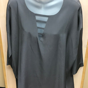 Primary Photo - BRAND:  GO SILKSTYLE: TUNIC LONG SLEEVE COLOR: GREY SIZE: S OTHER INFO: GO SILK - 100% SILK SKU: 239-23911-69878