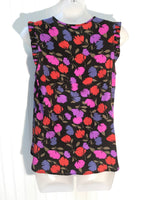 Photo #1 - BRAND: J CREW <BR>STYLE: TOP SLEEVELESS <BR>COLOR: FLOWERED <BR>SIZE: 2 <BR>SKU: 239-23918-34014