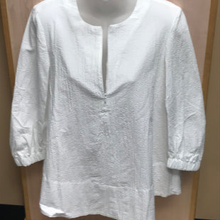 Primary Photo - BRAND:  POMANDER PLACE BY TUCKERNUCK STYLE: TOP LONG SLEEVE COLOR: WHITE SIZE: M SKU: 239-23911-69990COTTON