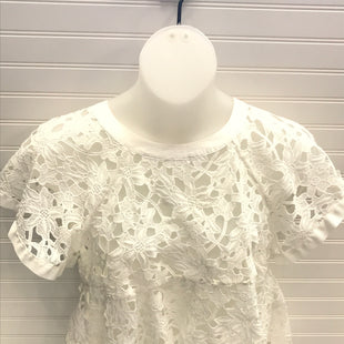 Primary Photo - BRAND: ANTHROPOLOGIE STYLE: TOP SHORT SLEEVE COLOR: WHITE SIZE: M SKU: 239-23918-38747