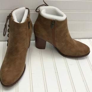 Primary Photo - BRAND:   TOETOS BY DREAM PARIS STYLE: BOOTS ANKLE COLOR: BROWN SIZE: 9.5 OTHER INFO: NEW WITH PACKAGING!SKU: 239-23918-38725