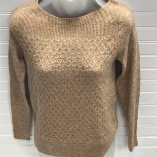 Primary Photo - BRAND: ANN TAYLOR LOFT O STYLE: SWEATER LIGHTWEIGHT COLOR: TAN SIZE: XXS OTHER INFO: NEW! SKU: 239-23918-38602