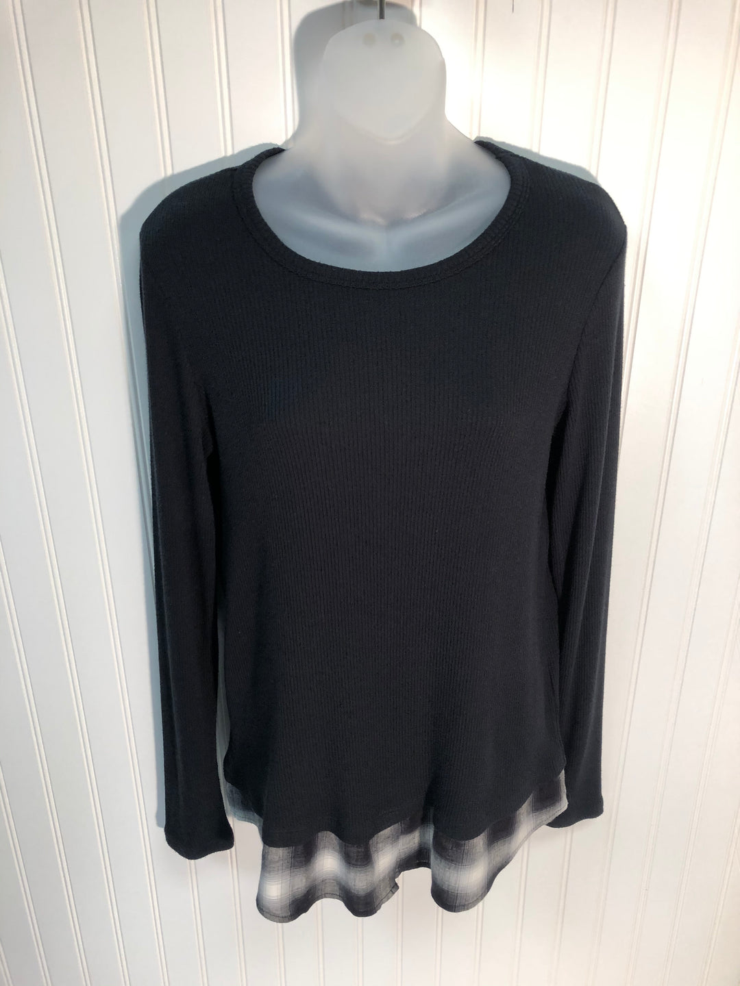 Primary Photo - BRAND: BAILEY 44 <BR>STYLE: TOP LONG SLEEVE <BR>COLOR: BLACK <BR>SIZE: L <BR>SKU: 239-23911-67140