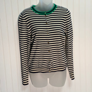 Primary Photo - BRAND: J CREW STYLE: SWEATER CARDIGAN LIGHTWEIGHT COLOR: STRIPED SIZE: S SKU: 239-23911-70217