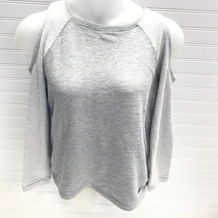 Primary Photo - BRAND:  SWEATY BETTYSTYLE: TOP LONG SLEEVE COLOR: GREY SIZE: L OTHER INFO: COLD SHOULDER SKU: 239-23918-39038