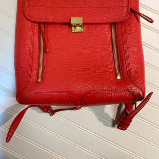Primary Photo - BRAND: 3.1 PHILLIP LIM STYLE: BACKPACK COLOR: RED SIZE: LARGE OTHER INFO: PASHLI LEATHER BACKPACK SKU: 239-23911-72183