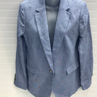 Primary Photo - BRAND: ANN TAYLOR STYLE: BLAZER JACKET COLOR: BLUE SIZE: 10TALL OTHER INFO: NEW! LINEN SKU: 239-23911-73570DRESS SIZE 12TALL  AND PANTS SIZE 10 AVAILABLE.