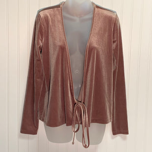 Primary Photo - BRAND: MADEWELL STYLE: TOP LONG SLEEVE COLOR: BROWN SIZE: S OTHER INFO: NEW! SKU: 239-23911-72762