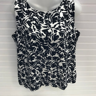 Primary Photo - BRAND: J CREW O STYLE: TOP SLEEVELESS COLOR: BLACK WHITE SIZE: M SKU: 239-23918-38298OPEN DRAPE IN THE BACK