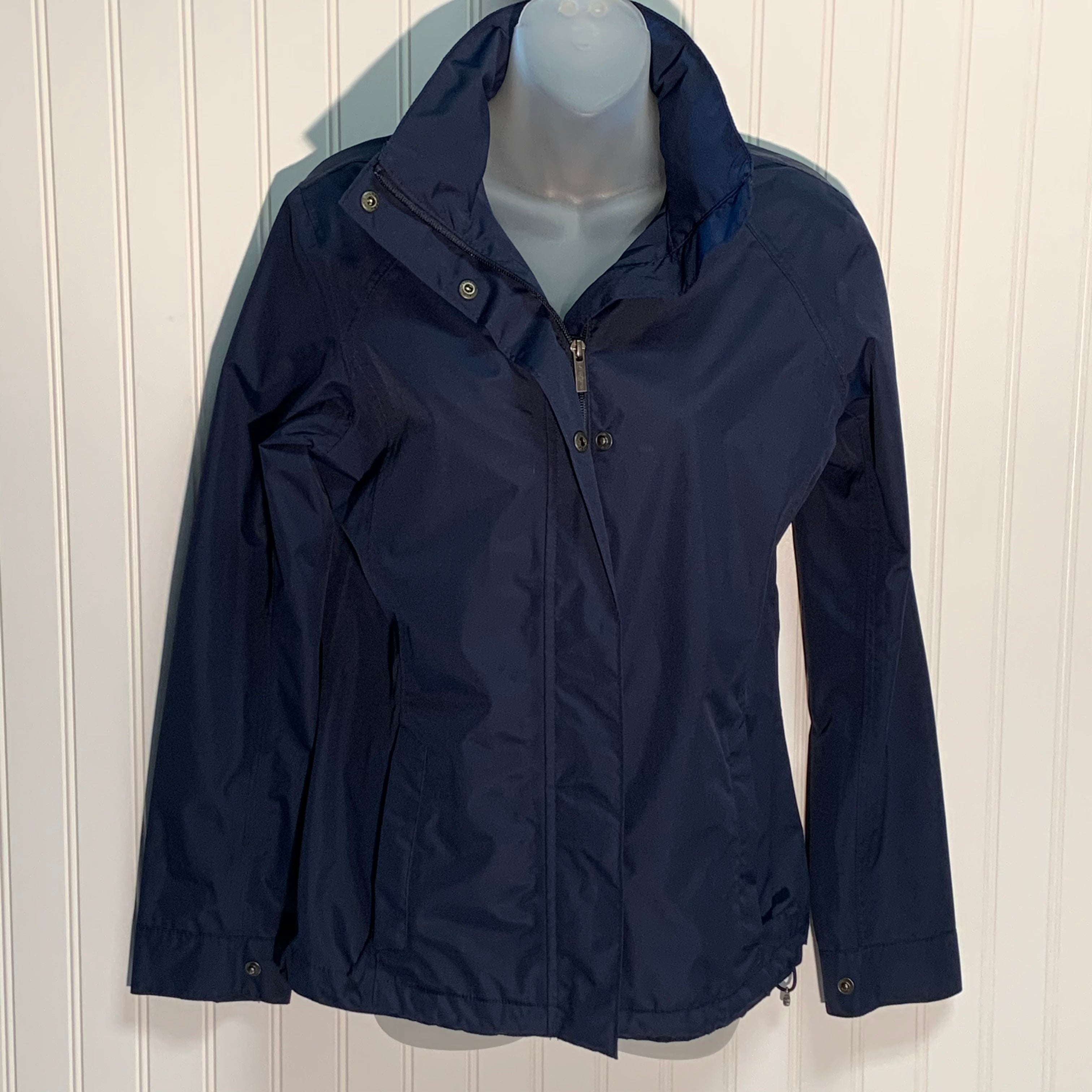 Primary Photo - BRAND: LANDS END <BR>STYLE: JACKET OUTDOOR <BR>COLOR: NAVY <BR>SIZE: XS <BR>SKU: 239-23918-35709