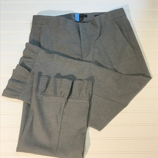 Primary Photo - BRAND: BANANA REPUBLIC STYLE: PANTS COLOR: GREY SIZE: 8 SKU: 239-23918-36306CROPPED, RUFFLED HEM