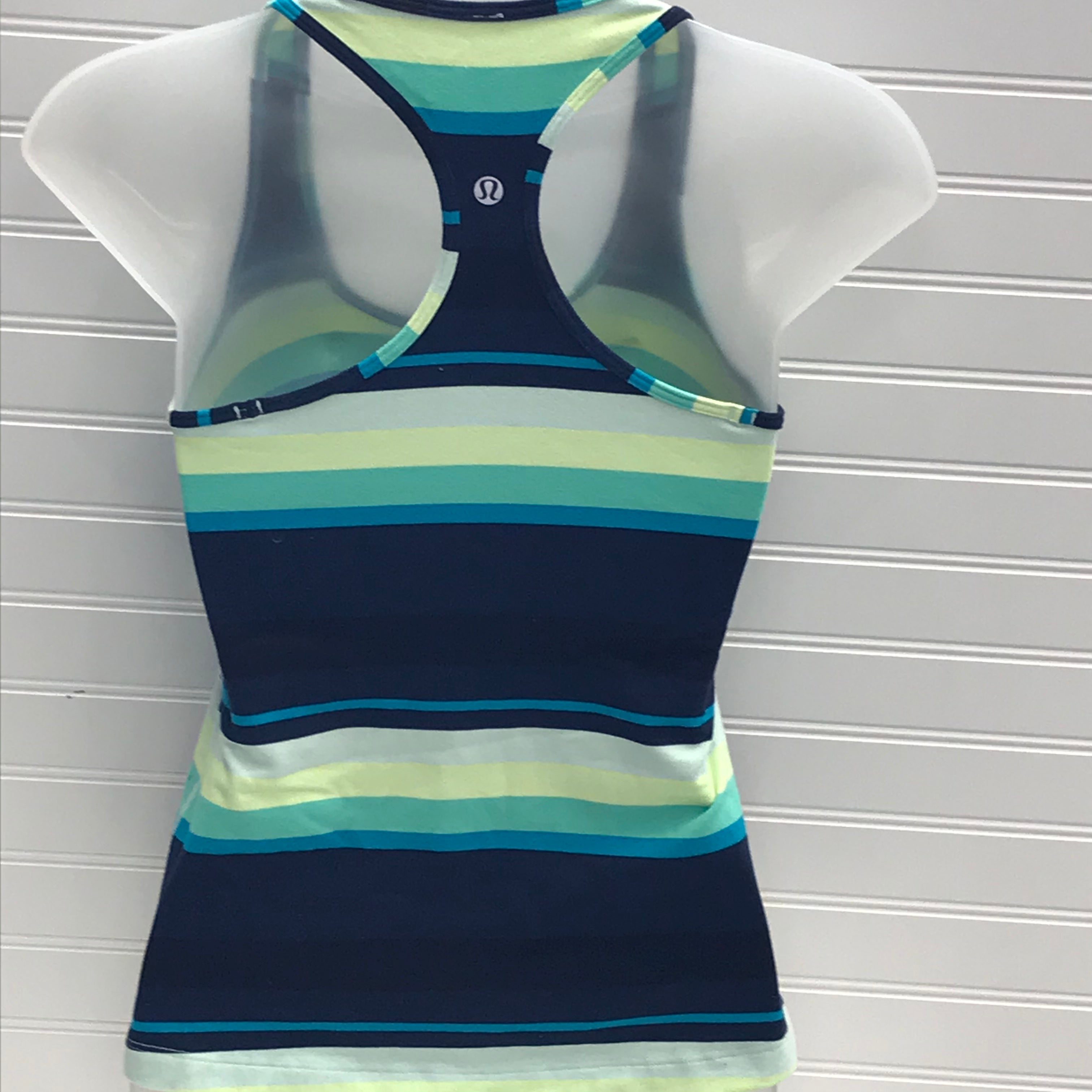 Photo #1 - BRAND: LULULEMON <BR>STYLE: ATHLETIC TANK TOP <BR>COLOR: MULTI <BR>SIZE: XS <BR>SKU: 239-23918-38638