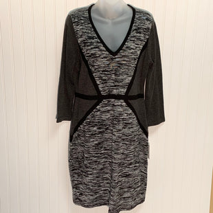 Primary Photo - BRAND: CALVIN KLEIN STYLE: DRESS SHORT LONG SLEEVE COLOR: GREY SIZE: L OTHER INFO: NEW! SKU: 239-23911-71400
