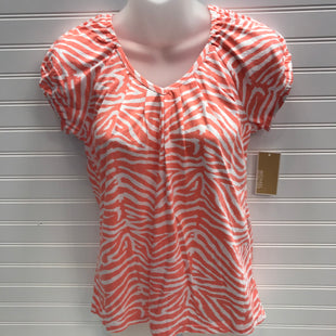 Primary Photo - BRAND: MICHAEL BY MICHAEL KORS STYLE: TOP SHORT SLEEVE COLOR: ORANGE SIZE: S OTHER INFO: NEW! SKU: 239-23911-72947