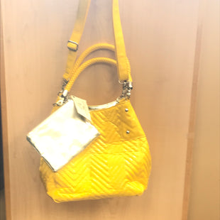 Primary Photo - BRAND: BIG BUDDAH STYLE: HANDBAG COLOR: YELLOW SIZE: MEDIUM OTHER INFO: NEW! WITH POUCH. SKU: 239-23911-68827