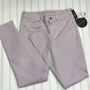 Primary Photo - BRAND: ARTICLES OF SOCIETY STYLE: JEANS COLOR: LAVENDER SIZE: 4 OTHER INFO: NEW! WAIST 27, ANKLEW, SKINNY] SKU: 239-23911-73825