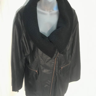 Primary Photo - BRAND:    MONTANACOSTYLE: COAT SHORT COLOR: BLACK SIZE: M SKU: 239-23911-70788100% POLYURETHANE