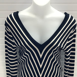 Primary Photo - BRAND: ZARA WOMEN STYLE: TOP LONG SLEEVE COLOR: STRIPED NAVY & WHITE SIZE: M SKU: 239-23918-37978KNITWEAR COLLECTION