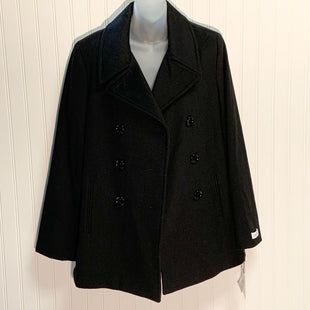 Primary Photo - BRAND: CALVIN KLEIN STYLE: COAT SHORT COLOR: BLACK SIZE: 12 OTHER INFO: NEW! SKU: 239-23911-72053
