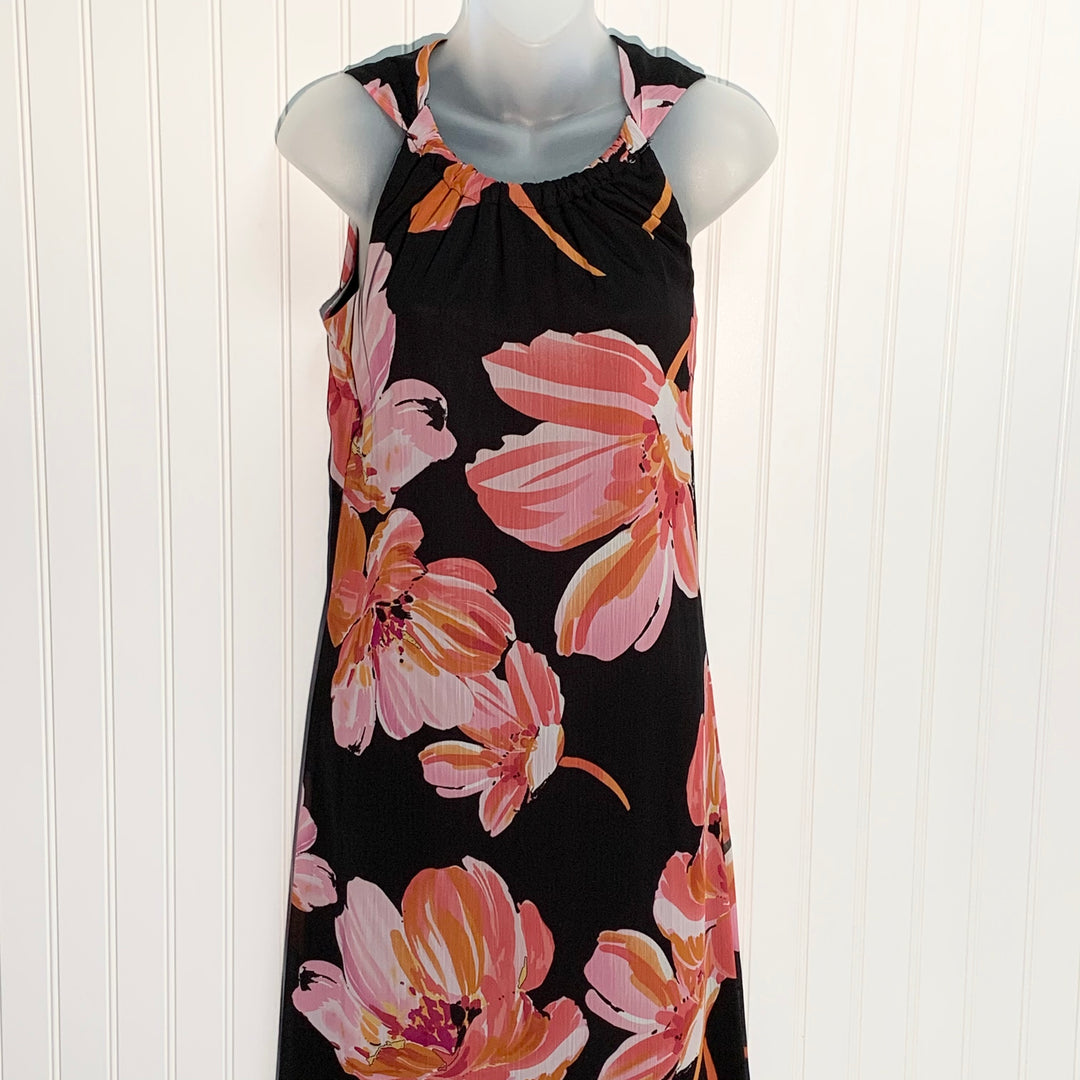 Primary Photo - BRAND: STUDIO 1940 <BR>STYLE: DRESS LONG SLEEVELESS <BR>COLOR: PINKBLACK <BR>SIZE: 10 <BR>SKU: 239-23911-66525