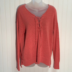 Primary Photo - BRAND: ANN TAYLOR LOFT STYLE: SWEATER LIGHTWEIGHT COLOR: MELON SIZE: M SKU: 239-23911-70495