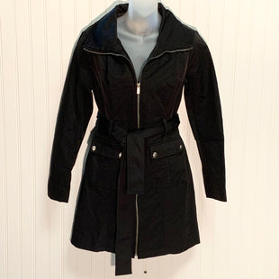 Primary Photo - BRAND: NEW YORK AND CO STYLE: COAT SHORT COLOR: BLACK SIZE: S OTHER INFO: TRENCH SKU: 239-23911-72355
