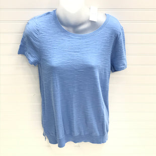 Primary Photo - BRAND: ANN TAYLOR LOFT O STYLE: TOP SHORT SLEEVE COLOR: BLUE SIZE: S OTHER INFO: NEW! SKU: 239-23911-74074