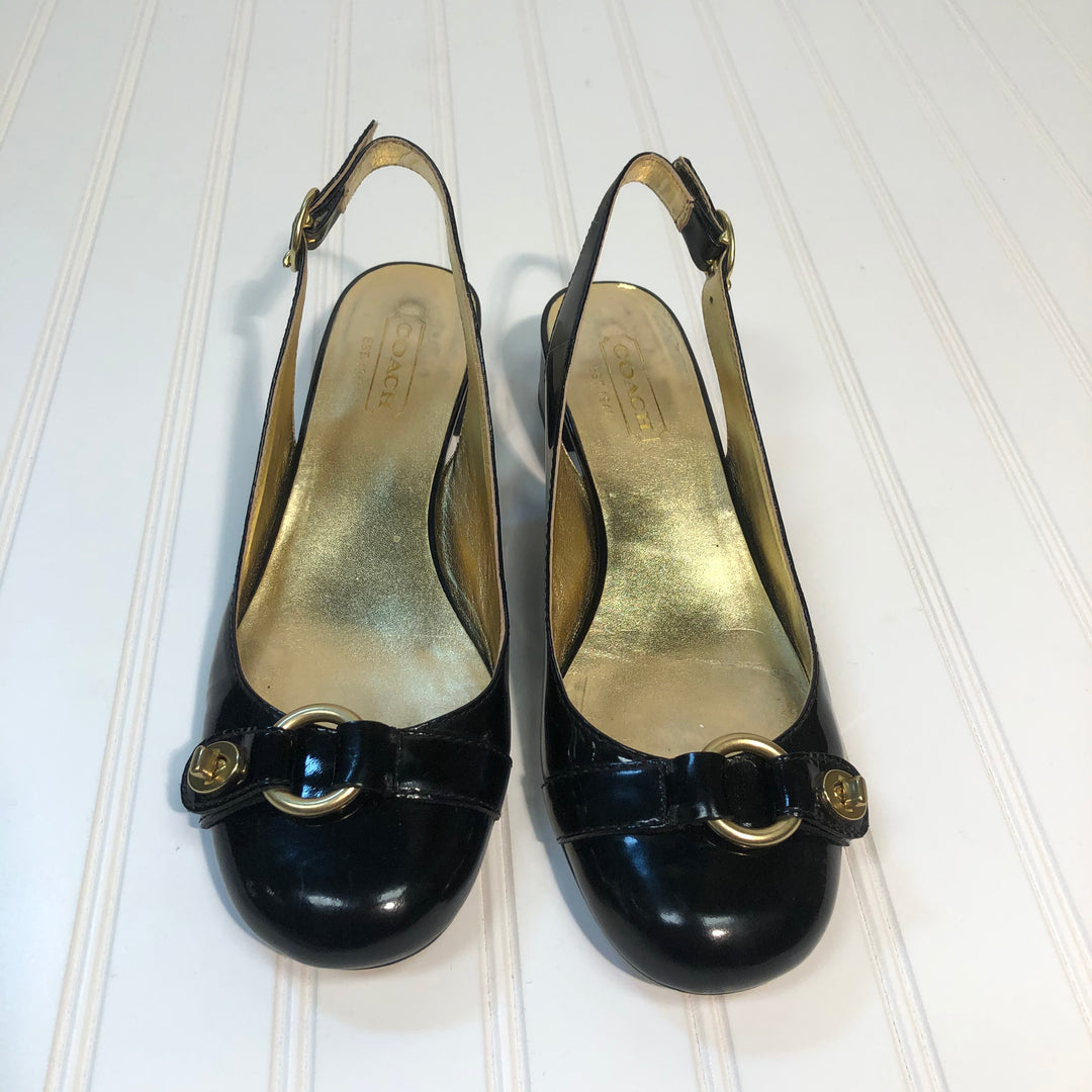 Primary Photo - BRAND: COACH <BR>STYLE: SHOES LOW HEEL <BR>COLOR: BLACK <BR>SIZE: 8 <BR>SKU: 239-23918-33998