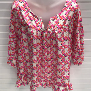Primary Photo - BRAND: JULIE BROWNSTYLE: TOP LONG SLEEVE COLOR: PINK SIZE: 6 OTHER INFO: 100% SILK SKU: 239-23918-39037