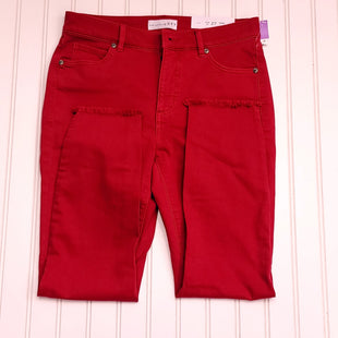 Primary Photo - BRAND: ANN TAYLOR LOFT STYLE: JEANS COLOR: RED SIZE: 4PETITE OTHER INFO: NEW! WAIST 27 SKU: 239-23911-74034