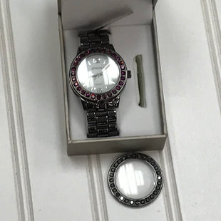 Primary Photo - BRAND: CHICOS STYLE: WATCH COLOR: CHARCOALOTHER INFO: INTERCHANGEABLE BEZEL SKU: 239-23911-73685